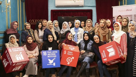 Female First career workshop